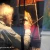 Artista en Montmatre Paris