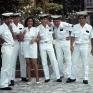 Los marinos de paseo