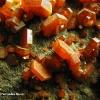 Cristales de Vanadinita Marruecos