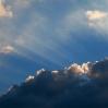 Nubes y luces