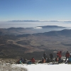 Cumbre de la Sagra al fondo Sierra Nevada