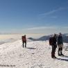 Alpinismo La Sagra al fondo Sierra Nevada