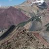Morrenas del glaciar Lenin Kyrgyzstan Pamir